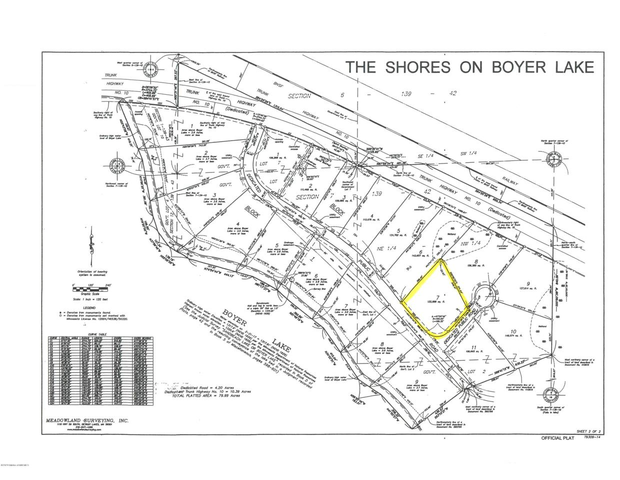 Lot 7 Blk2 The Shores On Boyer Lake - Photo 1