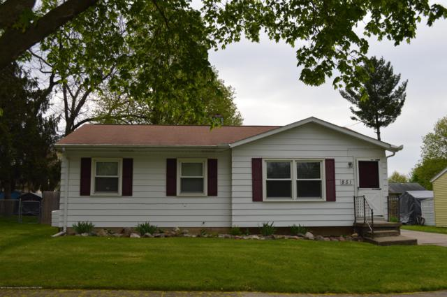 851 Brookdale Street, Mason, MI 48854 (MLS #236331) :: Real Home Pros
