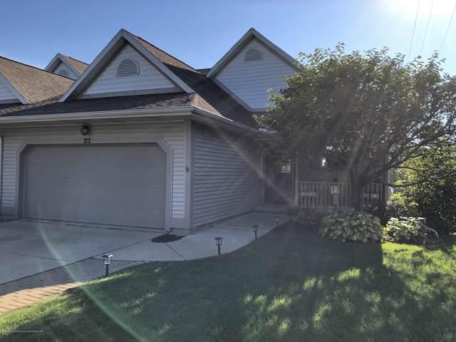 712 Pine Meadow Lane #6, Williamston, MI 48895 (MLS #241848) :: Real Home Pros