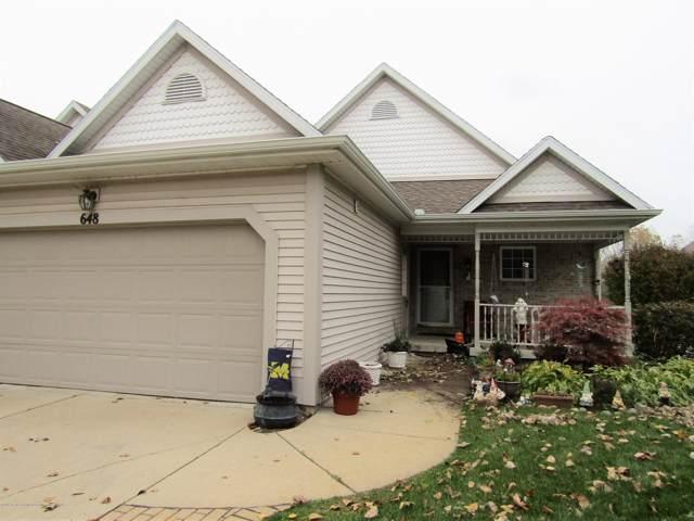 648 Pine Meadow Lane, Williamston, MI 48895 (MLS #241939) :: Real Home Pros