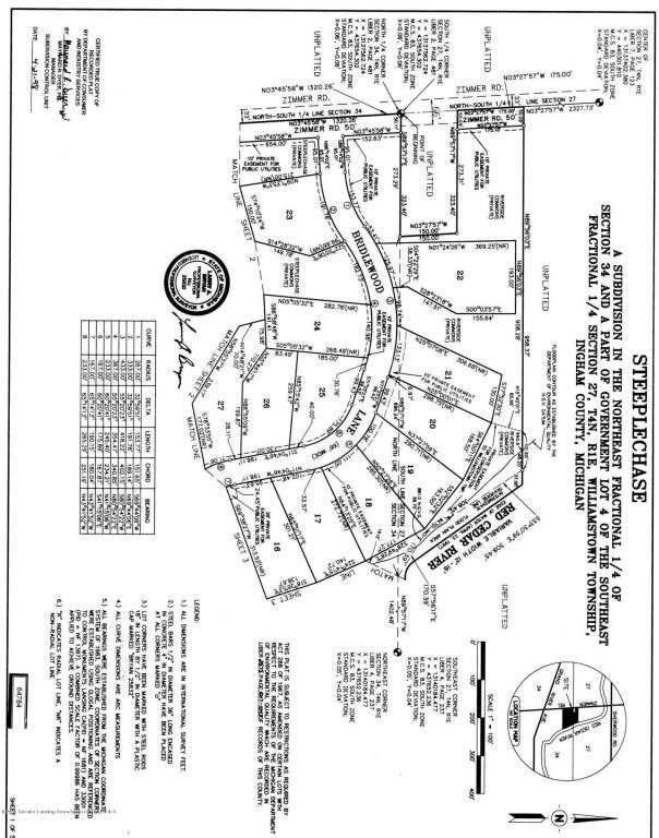1335 Bridlewood Lane, Williamston, MI 48895 (MLS #78873) :: Real Home Pros