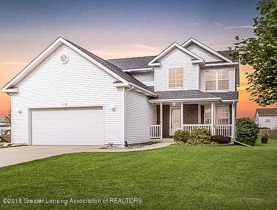 1845 Merganser Drive, Holt, MI 48842 (MLS #230099) :: Real Home Pros