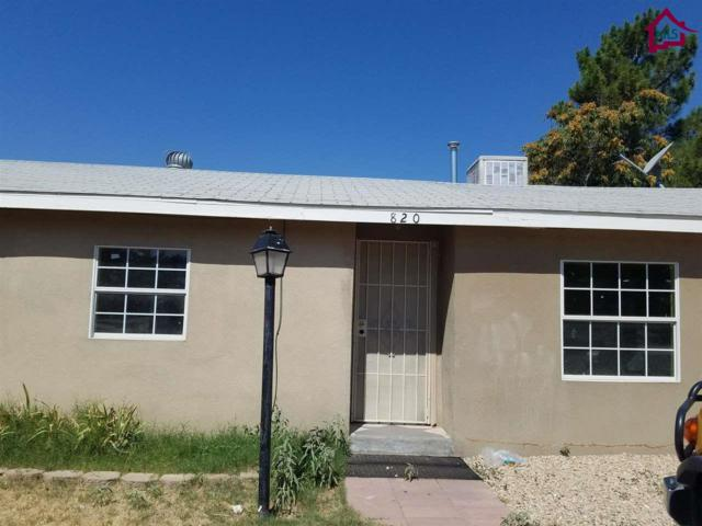 820 Luna Street, Las Cruces, NM 88001 (MLS #1702424) :: Steinborn & Associates Real Estate