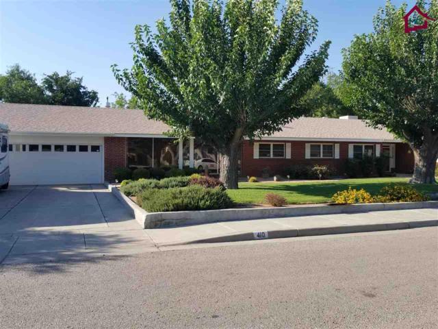 410 Palmer Road, Las Cruces, NM 88005 (MLS #1703432) :: Steinborn & Associates Real Estate
