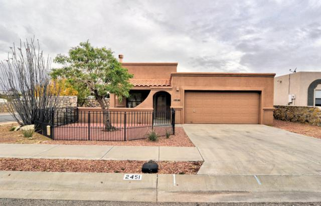 2451 Bugatti Drive, Las Cruces, NM 88001 (MLS #1805533) :: Steinborn & Associates Real Estate