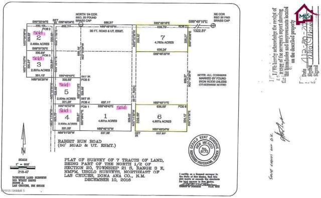 000000 Rabbit Run Road, Las Cruces, NM 88012 (MLS #1807814) :: Austin Tharp Team