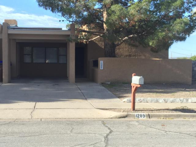 1289 N Willow Street, Las Cruces, NM 88001 (MLS #1807940) :: Steinborn & Associates Real Estate
