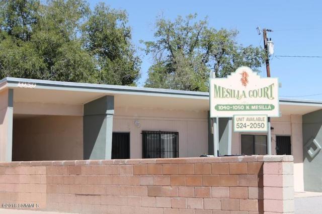 1040-1050 N Mesilla Street 1-7, Las Cruces, NM 88005 (MLS #1807997) :: Steinborn & Associates Real Estate