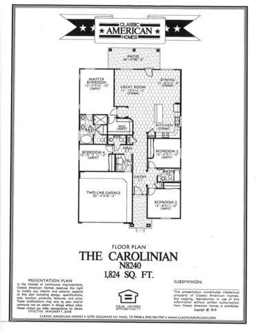 883 Bronze Hill Avenue, Sunland Park, NM 88063 (MLS #1900588) :: Steinborn & Associates Real Estate