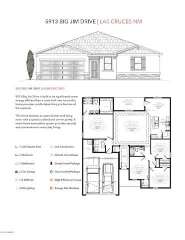 5913 Big Jim Drive, Las Cruces, NM 88012 (MLS #1902661) :: Steinborn & Associates Real Estate