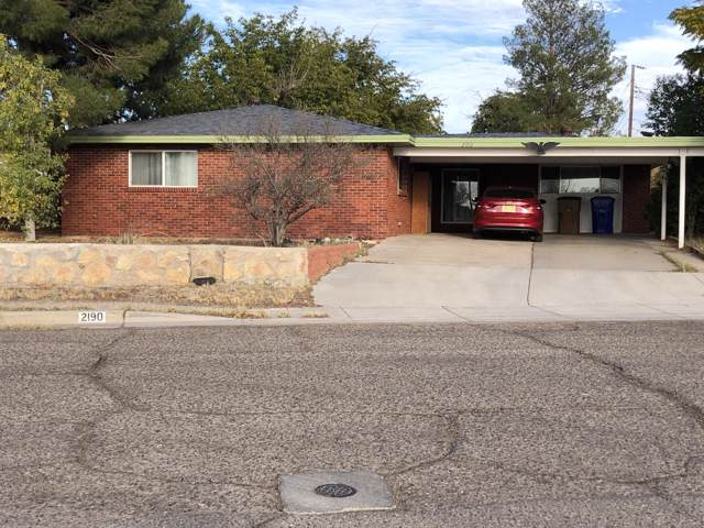 2190 Kent Road, Las Cruces, NM 88001 (MLS #1903199) :: Steinborn & Associates Real Estate