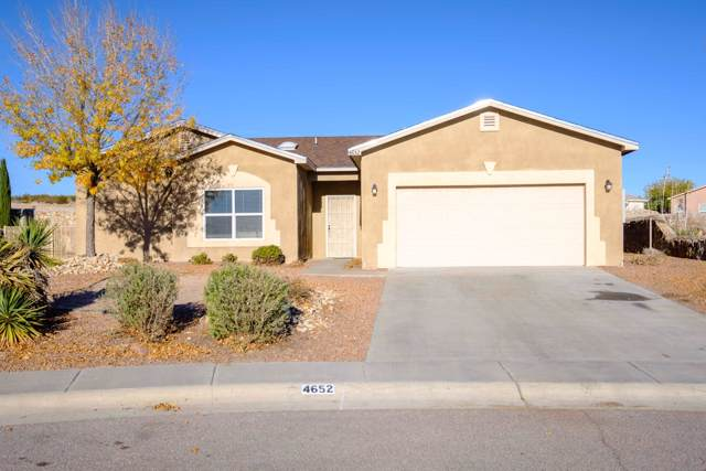 4652 Pyramid Peak Drive, Las Cruces, NM 88012 (MLS #1903402) :: Steinborn & Associates Real Estate