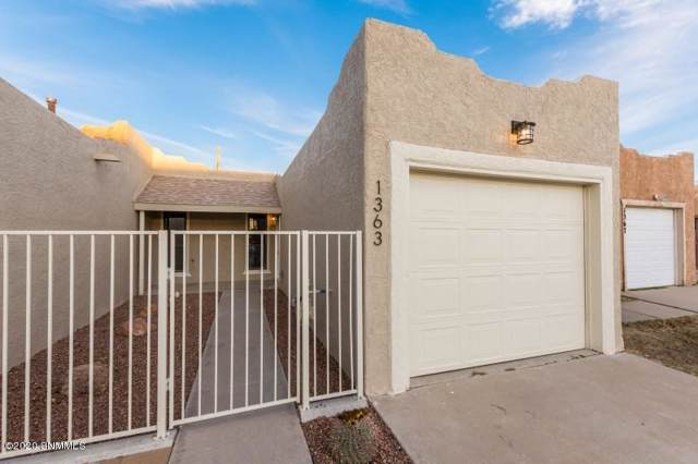 1363 Durazno Street, Las Cruces, NM 88001 (MLS #2000252) :: Steinborn & Associates Real Estate