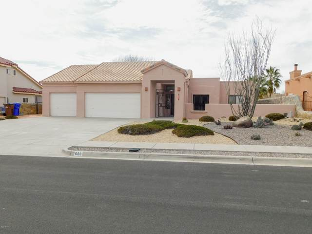 688 Stone Canyon Dr. Drive, Las Cruces, NM 88011 (MLS #2000568) :: Arising Group Real Estate Associates