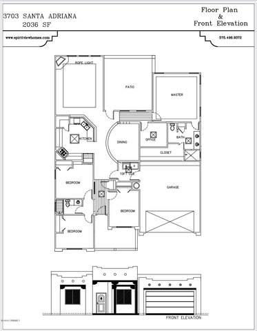 3703 Santa Adriana Avenue, Las Cruces, NM 88012 (MLS #2000899) :: Arising Group Real Estate Associates