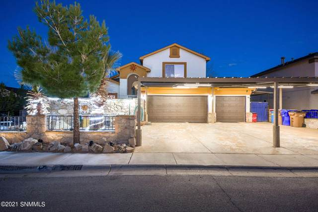 5816 Coyote Peak Place, Las Cruces, NM 88012 (MLS #2100574) :: Better Homes and Gardens Real Estate - Steinborn & Associates