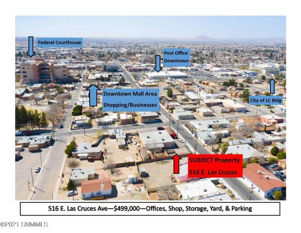 516 E Las Cruces Avenue, Las Cruces, NM 88001 (MLS #2100763) :: Agave Real Estate Group