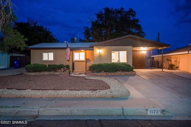 1970 Corbett Drive, Las Cruces, NM 88001 (MLS #2102233) :: Agave Real Estate Group