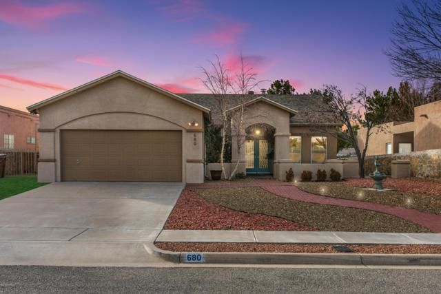 680 Canyon Point Road, Las Cruces, NM 88011 (MLS #1900230) :: Steinborn & Associates Real Estate
