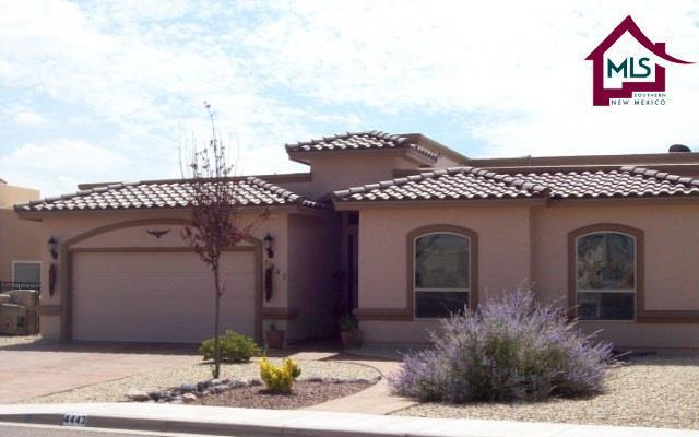4443 Miramar Arc, Las Cruces, NM 88011 (MLS #1702978) :: Steinborn & Associates Real Estate