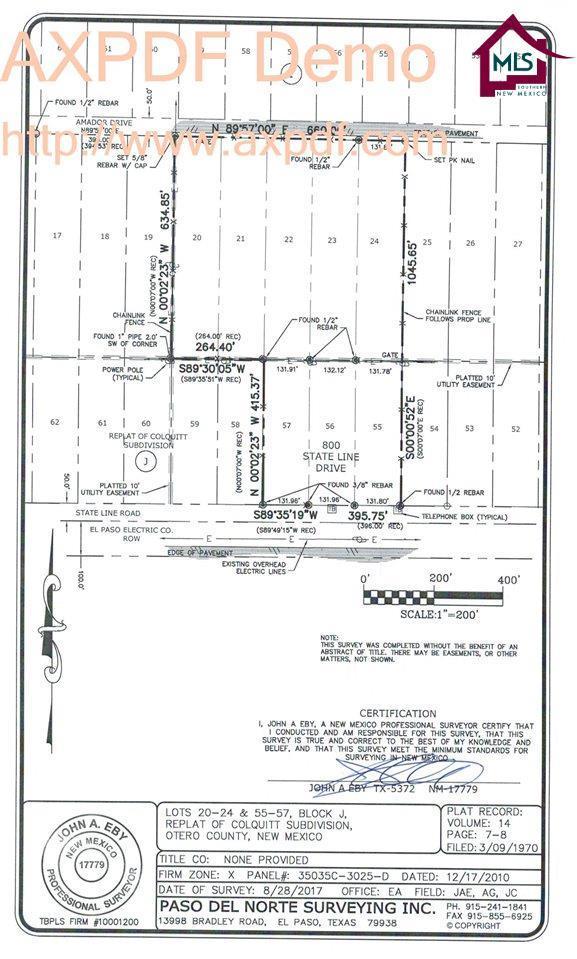 0000 Amador, Chaparral, NM 88081 (MLS #1703505) :: Steinborn & Associates Real Estate