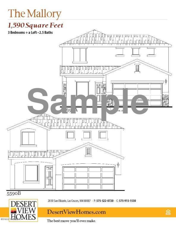 1622 Santa Thomas Street, Las Cruces, NM 88007 (MLS #1805886) :: Steinborn & Associates Real Estate