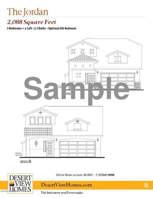 3038 San Elizario Court, Las Cruces, NM 88007 (MLS #1805889) :: Steinborn & Associates Real Estate