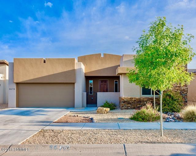 3678 Santa Marcella Avenue, Las Cruces, NM 88012 (MLS #1805963) :: Steinborn & Associates Real Estate