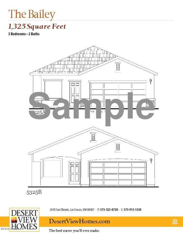 3059 San Elizario Court, Las Cruces, NM 88007 (MLS #1805987) :: Steinborn & Associates Real Estate