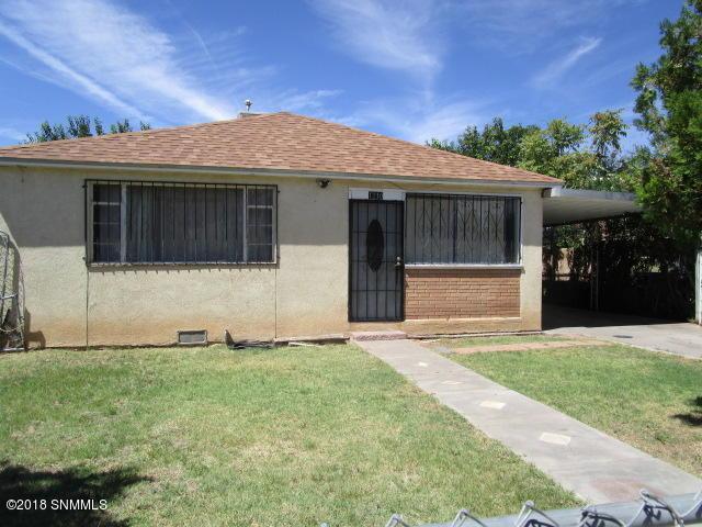 1210 S Pecos Street, Las Cruces, NM 88001 (MLS #1807300) :: Steinborn & Associates Real Estate