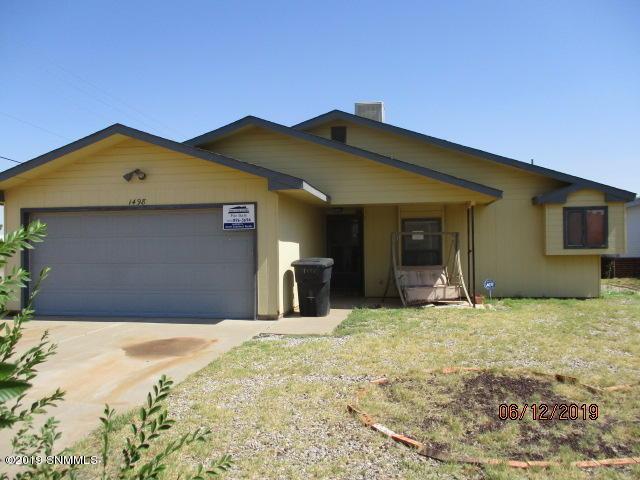 1498 Discovery Avenue, Alamogordo, NM 88310 (MLS #1901888) :: Steinborn & Associates Real Estate