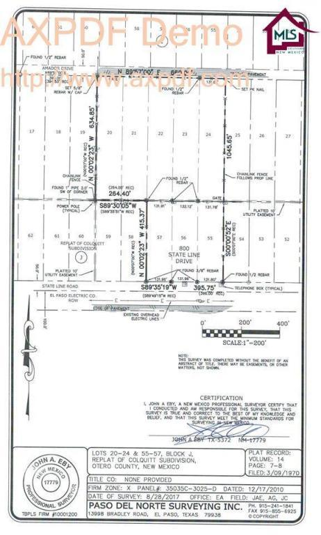 00 Amador, Chaparral, NM 88081 (MLS #1703508) :: Steinborn & Associates Real Estate