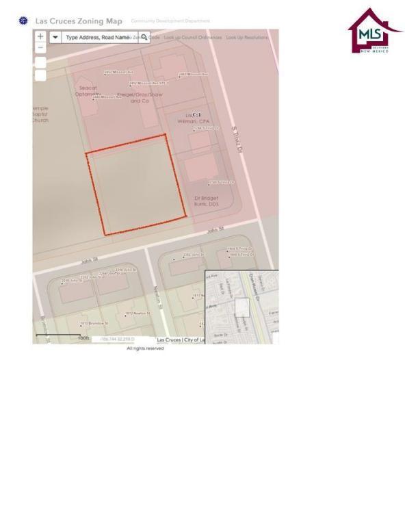 TBD Tbd John Street, Las Cruces, NM 88001 (MLS #1800045) :: Steinborn & Associates Real Estate