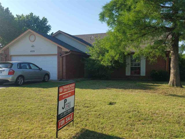 4828 SE Brown, Lawton, OK 73501 (MLS #150830) :: Pam & Barry's Team - RE/MAX Professionals
