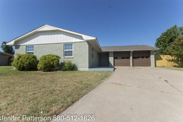 1814 NW Crosby Park Cir, Lawton, OK 73505 (MLS #151043) :: Pam & Barry's Team - RE/MAX Professionals
