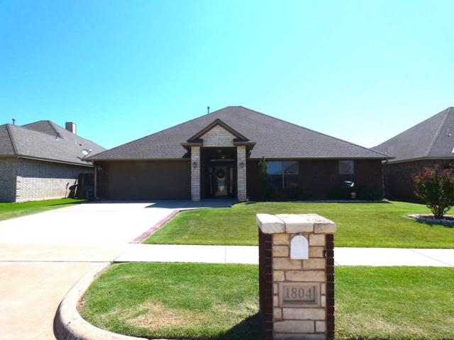 1804 SW Driftwood Dr, Lawton, OK 73505 (MLS #151626) :: Pam & Barry's Team - RE/MAX Professionals