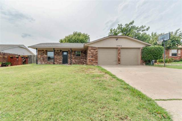 2406 NW 80th St, Lawton, OK 73505 (MLS #154221) :: Pam & Barry's Team - RE/MAX Professionals
