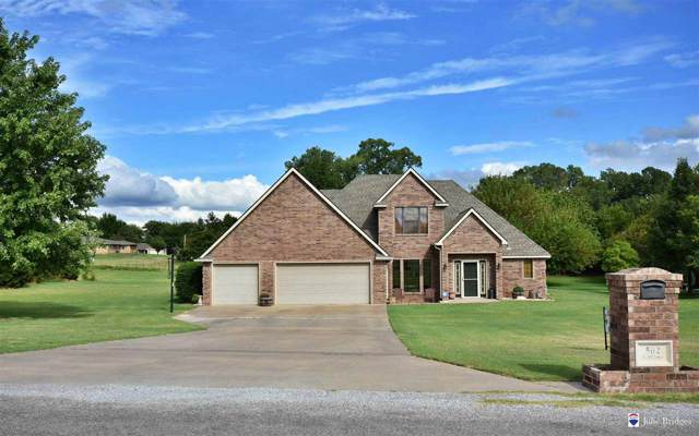 502 Wildflower Dr, Fletcher, OK 73541 (MLS #154324) :: Pam & Barry's Team - RE/MAX Professionals