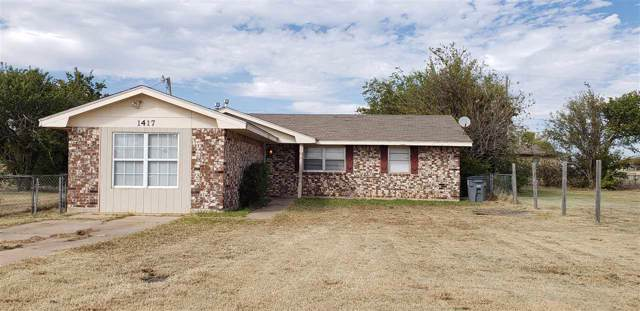 1417 SW Oklahoma Ave, Lawton, OK 73501 (MLS #154554) :: Pam & Barry's Team - RE/MAX Professionals