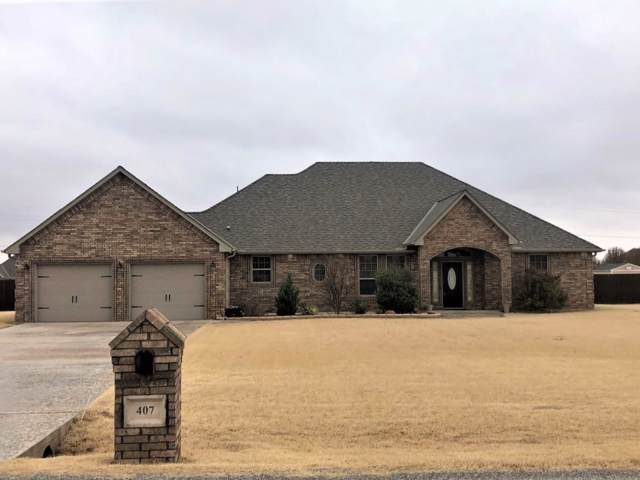 407 Obsidian Dr, Elgin, OK 73538 (MLS #154720) :: Pam & Barry's Team - RE/MAX Professionals