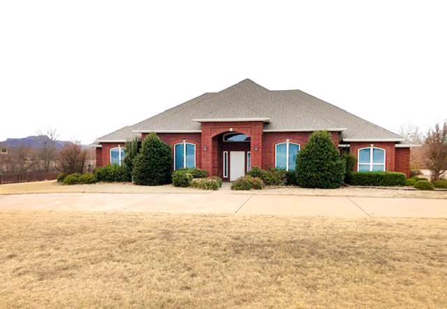 1 NW Quanah Mountain Rd, Lawton, OK 73507 (MLS #154807) :: Pam & Barry's Team - RE/MAX Professionals