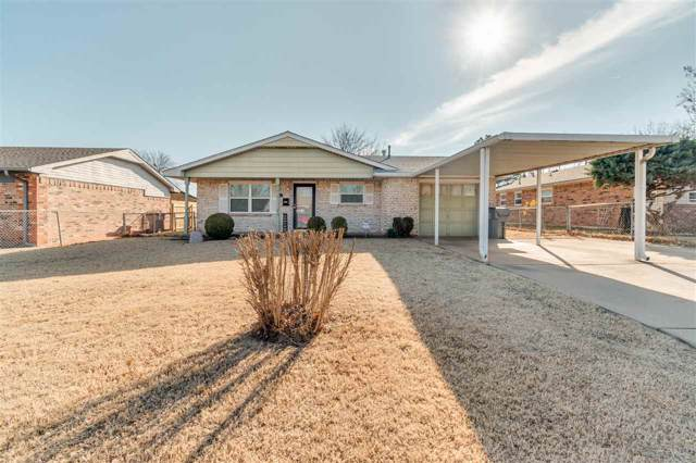 6410 NW Elm Ave, Lawton, OK 73505 (MLS #154921) :: Pam & Barry's Team - RE/MAX Professionals