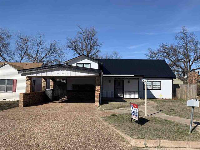1805 NW Dearborn Ave, Lawton, OK 73505 (MLS #155129) :: Pam & Barry's Team - RE/MAX Professionals