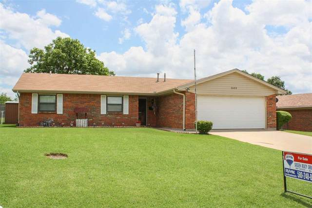 2603 NE Lake Ave, Lawton, OK 73507 (MLS #155960) :: Pam & Barry's Team - RE/MAX Professionals
