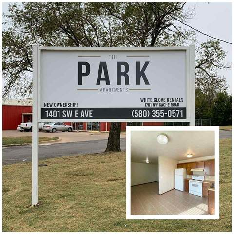 1401 SW E Ave, Lawton, OK 73507 (MLS #159506) :: Pam & Barry's Team - RE/MAX Professionals