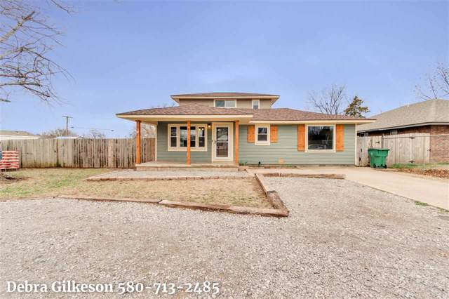 108 NW F Ave, Cache, OK 73527 (MLS #155177) :: Pam & Barry's Team - RE/MAX Professionals