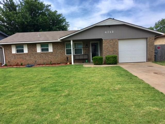 4713 SE Sunnymeade Dr, Lawton, OK 73501 (MLS #150988) :: Pam & Barry's Team - RE/MAX Professionals