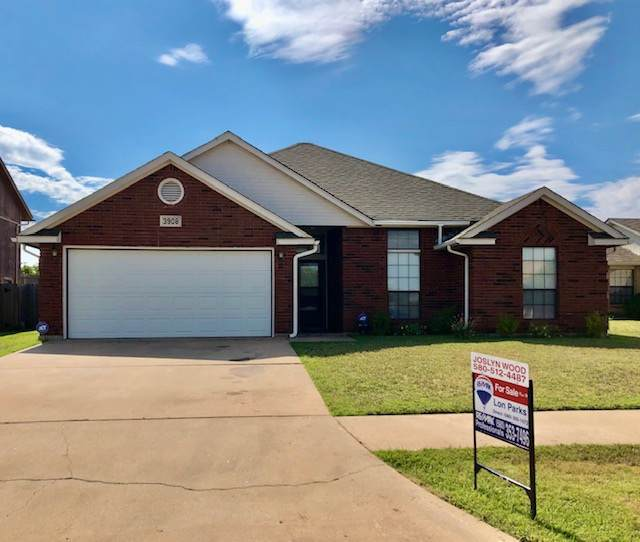 3908 SW Wolf, Lawton, OK 73505 (MLS #153617) :: Pam & Barry's Team - RE/MAX Professionals