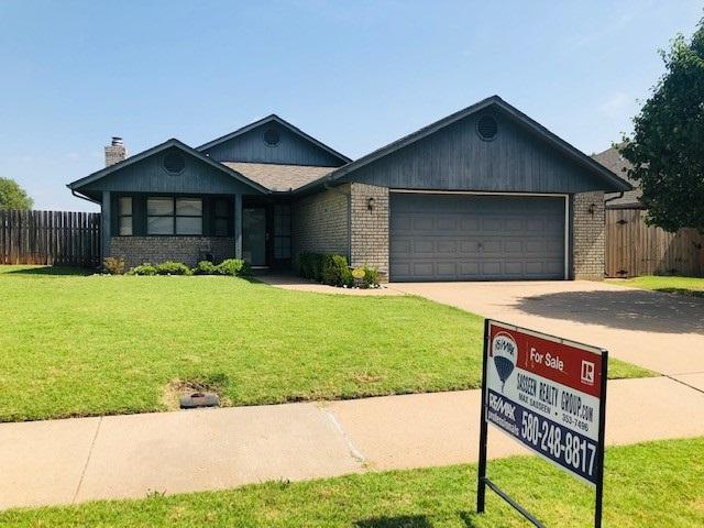 3909 SW Wolf St, Lawton, OK 73505 (MLS #153826) :: Pam & Barry's Team - RE/MAX Professionals