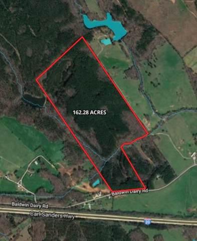 162 Acres Baldwin Dairy Road, Madison, GA 30650 (MLS #54495) :: Team Lake Country